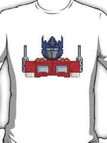 Optimus Prime Pixelated T-Shirt