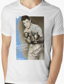Rocky Marciano Mens V-Neck T-Shirt