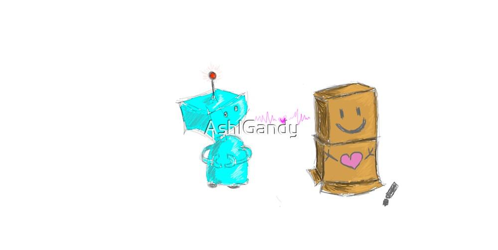 Robot Love by AshlGandy