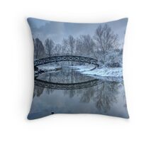 The Winter Crossing Throw Pillow