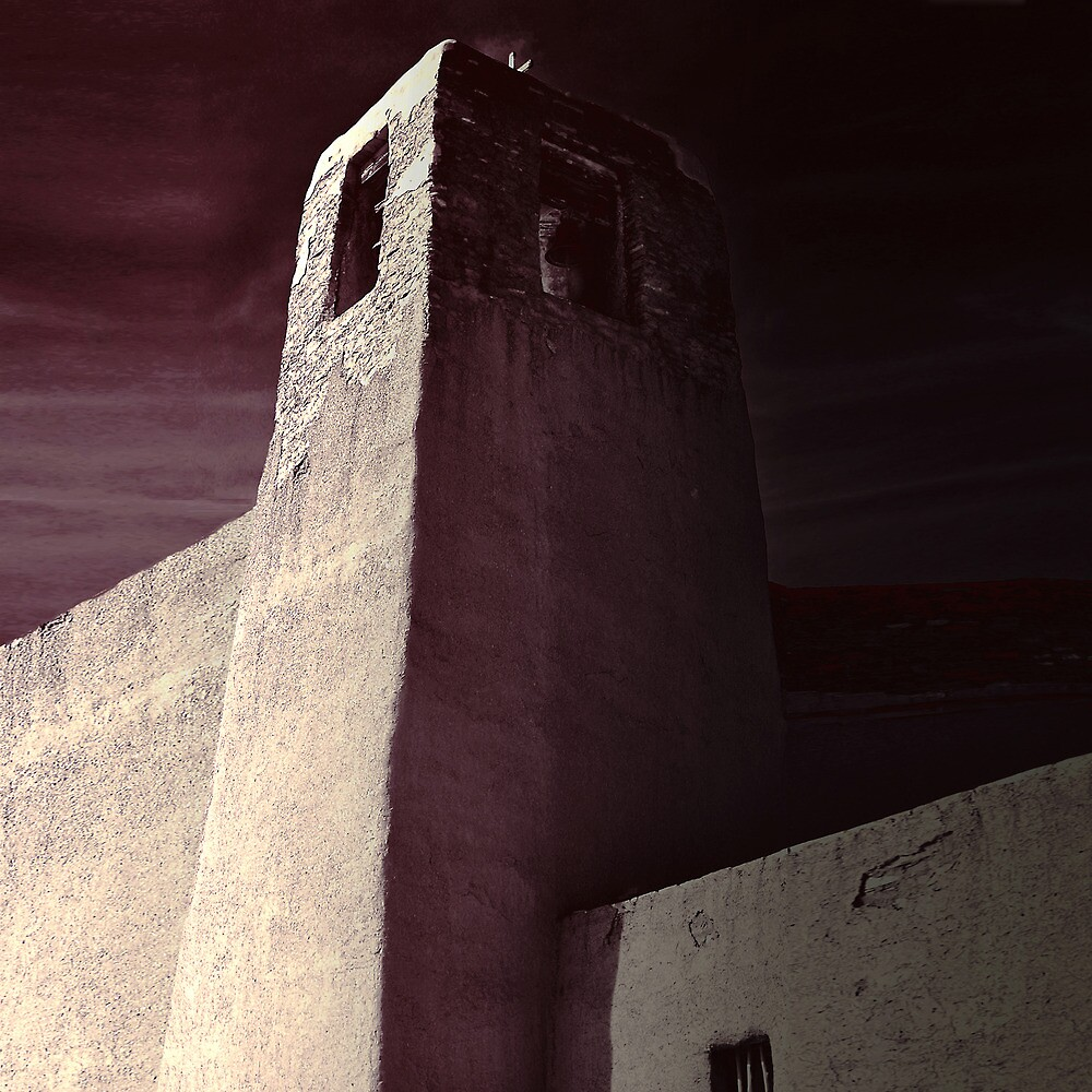 Acoma Bell Tower by Thomas Barker-Detwiler