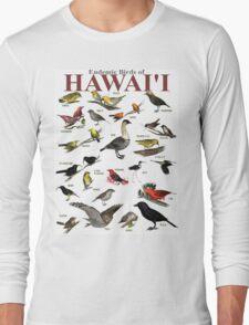 The Endemic Birds of Hawaii Long Sleeve T-Shirt