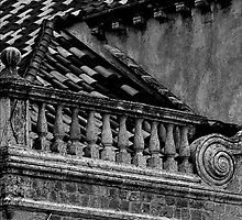 DUBROVNIK DETAIL SAINT BLASIUS CHURCH by Thomas Barker-Detwiler