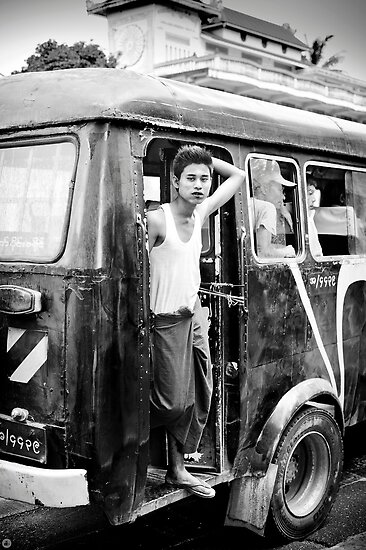 Bus Boy. by Duncan Longden