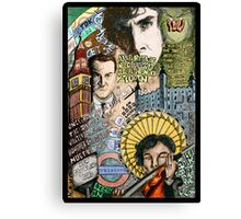 Sherlock dada coloured version Canvas Print