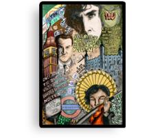 Sherlock dada coloured version Canvas Print