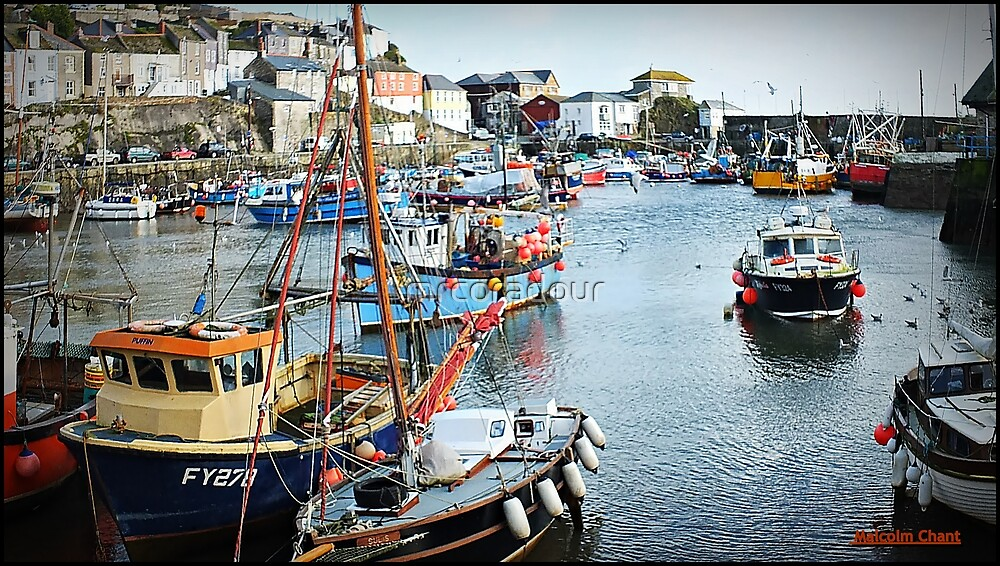 """"""" This little Harbour has a  History"""" by Malcolm Chant"""