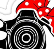Minney Mouse SLR Sticker