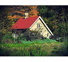 Cottage in the Green Photographic Print