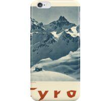Vintage poster - Tyrol iPhone Case/Skin