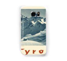 Vintage poster - Tyrol Samsung Galaxy Case/Skin