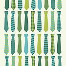Necktie Pattern by Ivaleksa