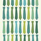 Necktie Pattern by Iveta Angelova