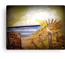 Laid Back Beach-Mural Canvas Print