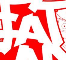 FatCap Sticker