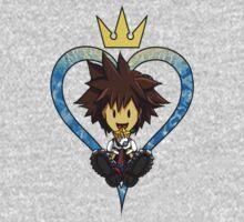 Kingdom Hearts Sora the Child One Piece - Long Sleeve