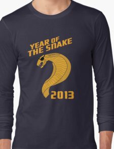 Year of the Snake (Escaped Version) Long Sleeve T-Shirt