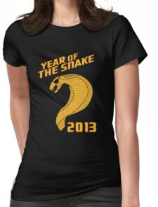 Year of the Snake (Escaped Version) Womens Fitted T-Shirt