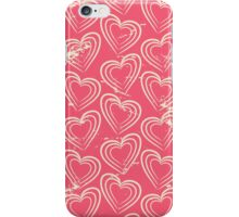Cute Vintage Hearts iPhone Case/Skin