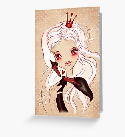 Swan Princess ~ Sketch Greeting Card
