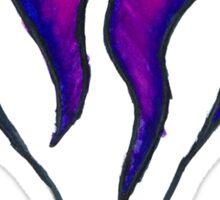 Kingdom Hearts Leaking Pink Logo Sticker