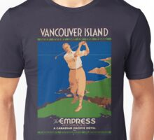 Vintage poster - Vancouver Island Unisex T-Shirt