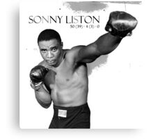 Sonny Liston Canvas Print
