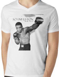 Sonny Liston Mens V-Neck T-Shirt