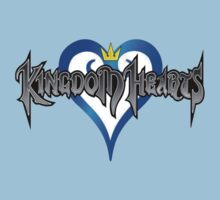 Kingdom Hearts Logo One Piece - Short Sleeve
