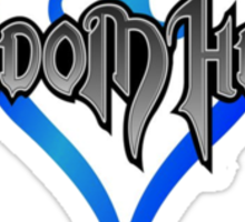 Kingdom Hearts Logo Sticker