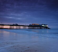 Cromer Pier Evening Blues by Ursula Rodgers