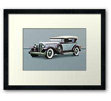 1932 Packard Twin Six Dual Cowl Phaeton w/o ID Framed Print