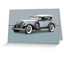 1932 Packard Twin Six Dual Cowl Phaeton w/o ID Greeting Card