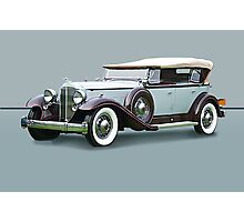 1932 Packard Twin Six Dual Cowl Phaeton w/o ID Photographic Print