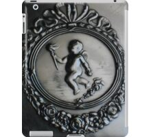 Silver Cupid with Roses iPad Case/Skin