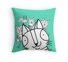 Photobomb Throw Pillow