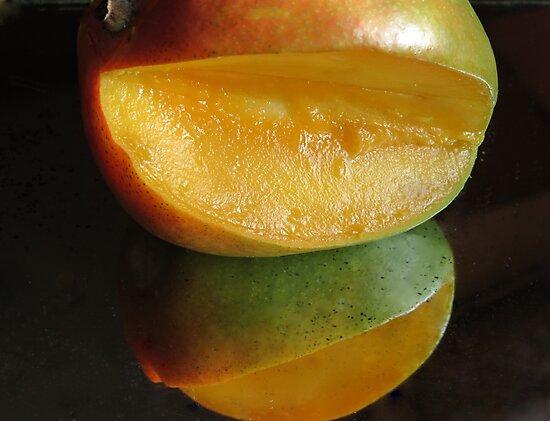 Mirrored Mango by trueblvr