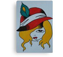 Blonde Noire Canvas Print