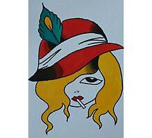 Blonde Noire Photographic Print