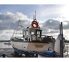 Rhiannon Ashore At Lyme Photographic Print