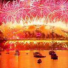 Sydney New Year Firework by ramanandr