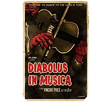 Devil in Music - Violin Photographic Print
