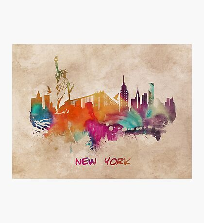 New York City skyline 2 Photographic Print
