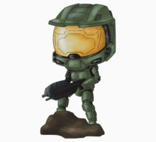 Chibi Master Chief Kids Clothes