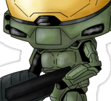 Chibi Master Chief alt. Sticker