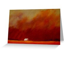 Dust In the Wind Greeting Card