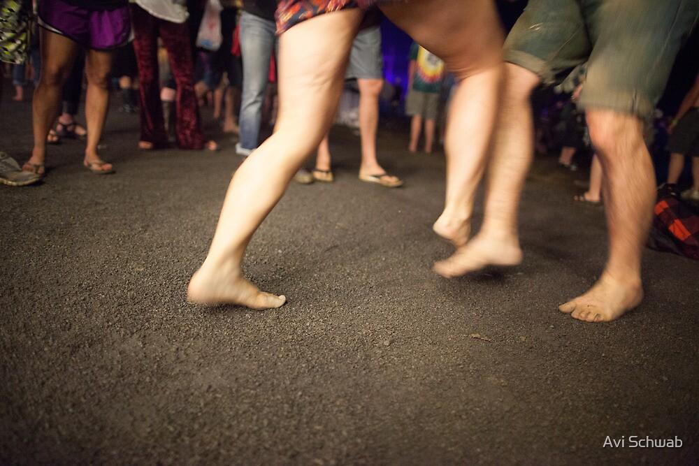 Foot fight by Avi Schwab