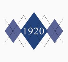 Abstraq Inc: 1920 Argyle (blue) by Abstraq