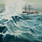 Rough Seas by Richard Mordecki