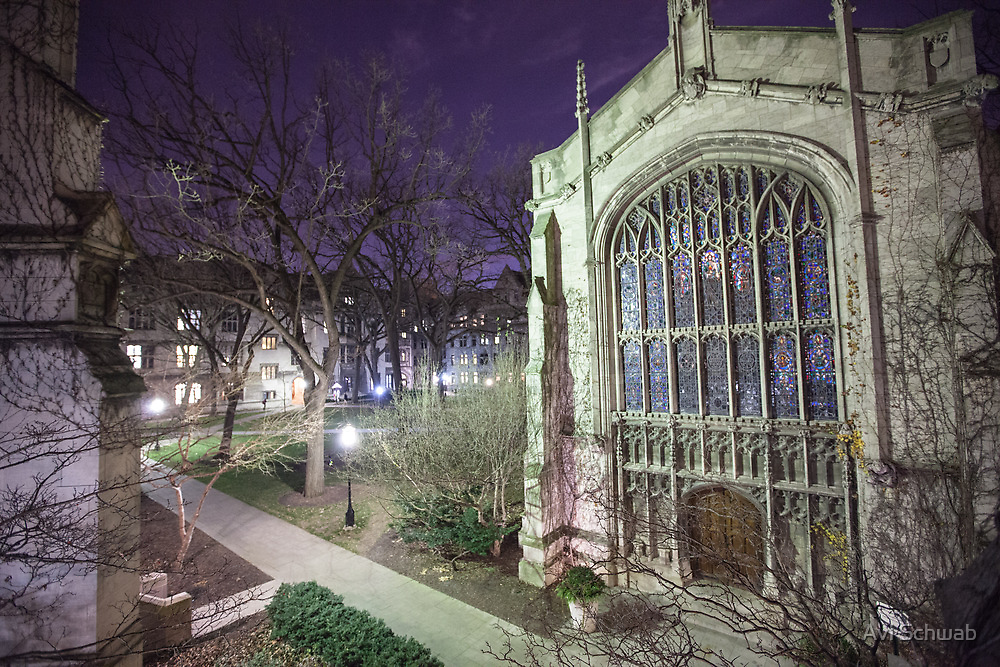 Bond Chapel & The Quad by Avi Schwab